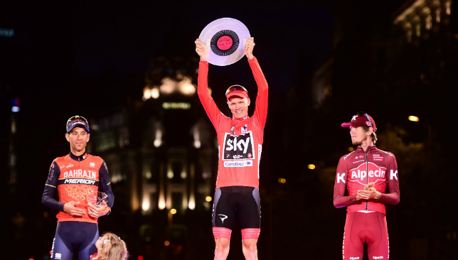 Praise but little fanfare for double champ Froome — Cycling
