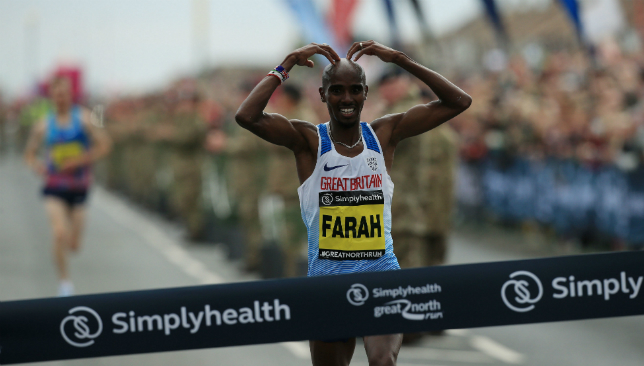 Mo Farah has been concentrating on the marathon after calling it quits on the track.