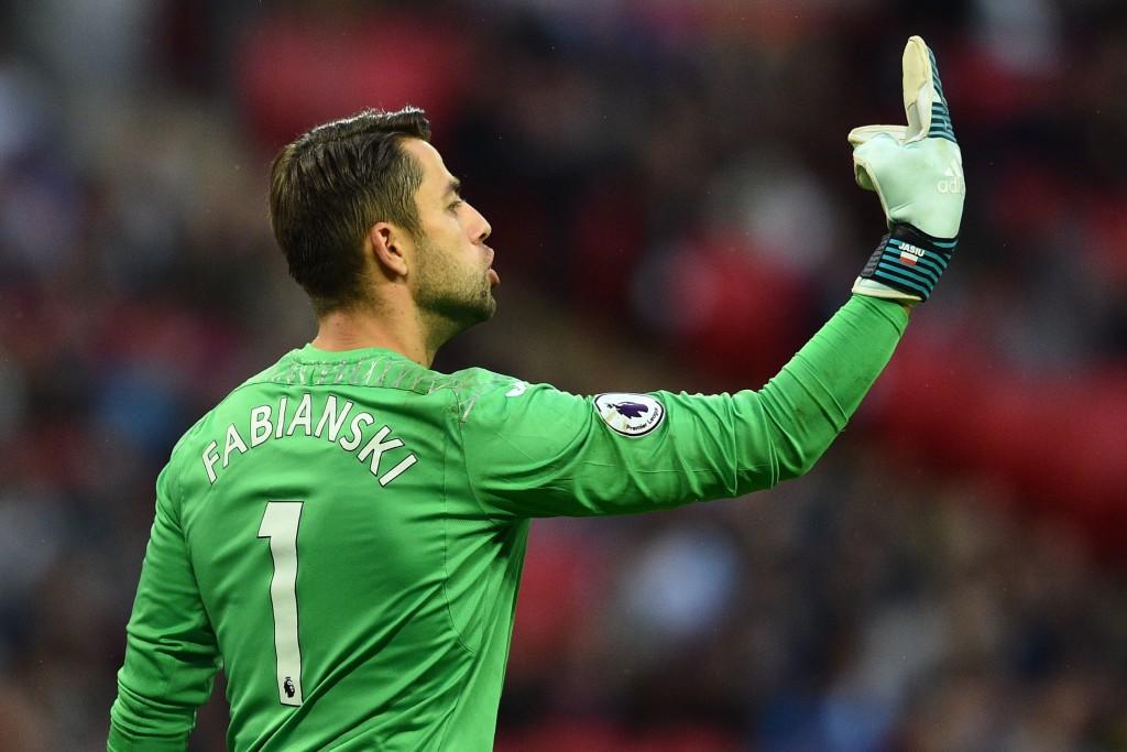 Fabianski was unbeatable in the Swansea goal.