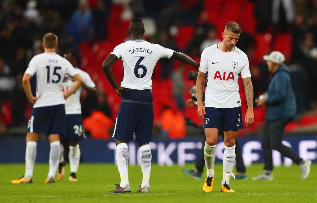 Tottenham's Wembley curse continues.