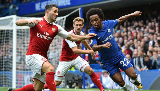 Image result for chelsea 0-0 arsenal
