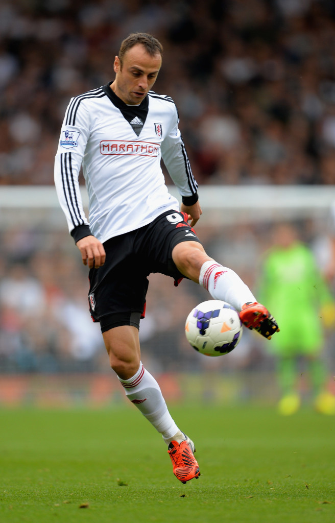 Dimitar Berbatov caused a transfer tug-of-war between Fiorentina and Juventus in 2012 before eventually signing for Fulham.