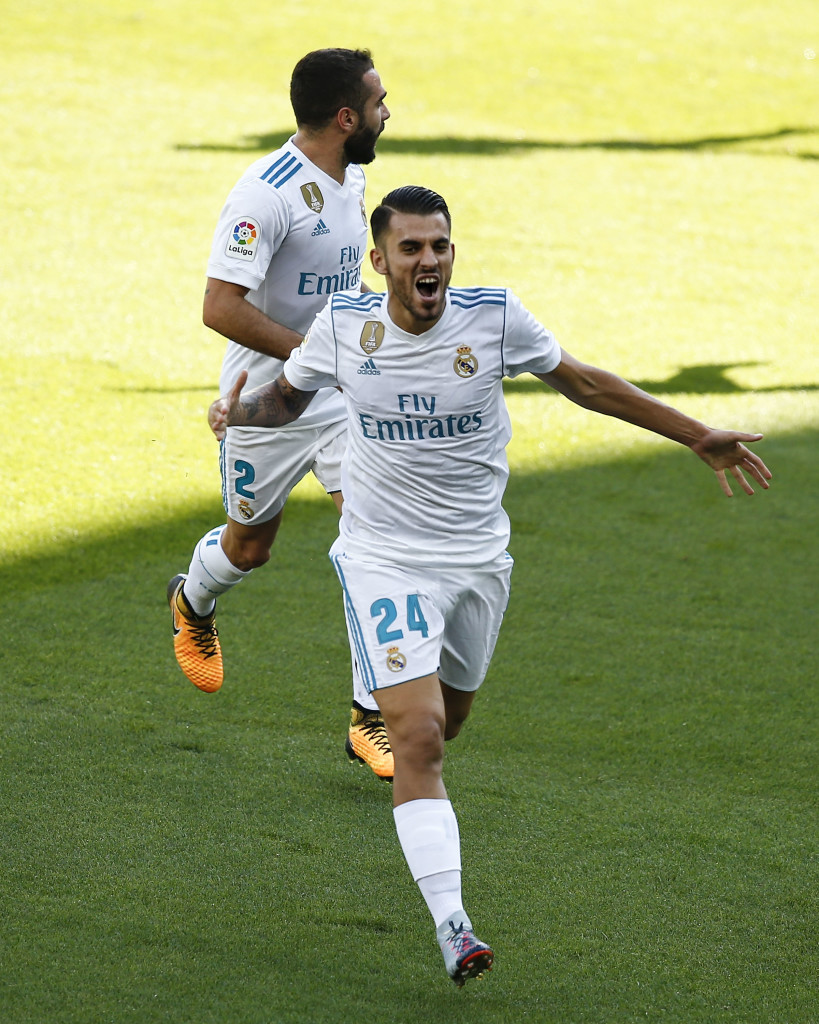 Ceballos' brace led Real Madrid to a nervy win.