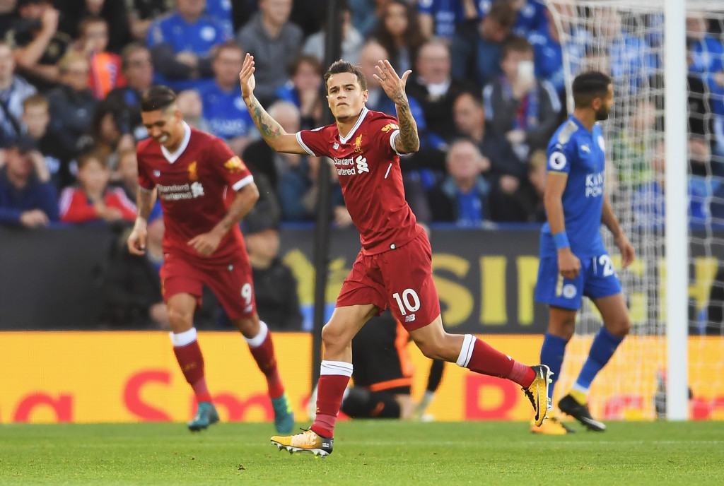 Coutinho scored a wonder goal and added an assist.
