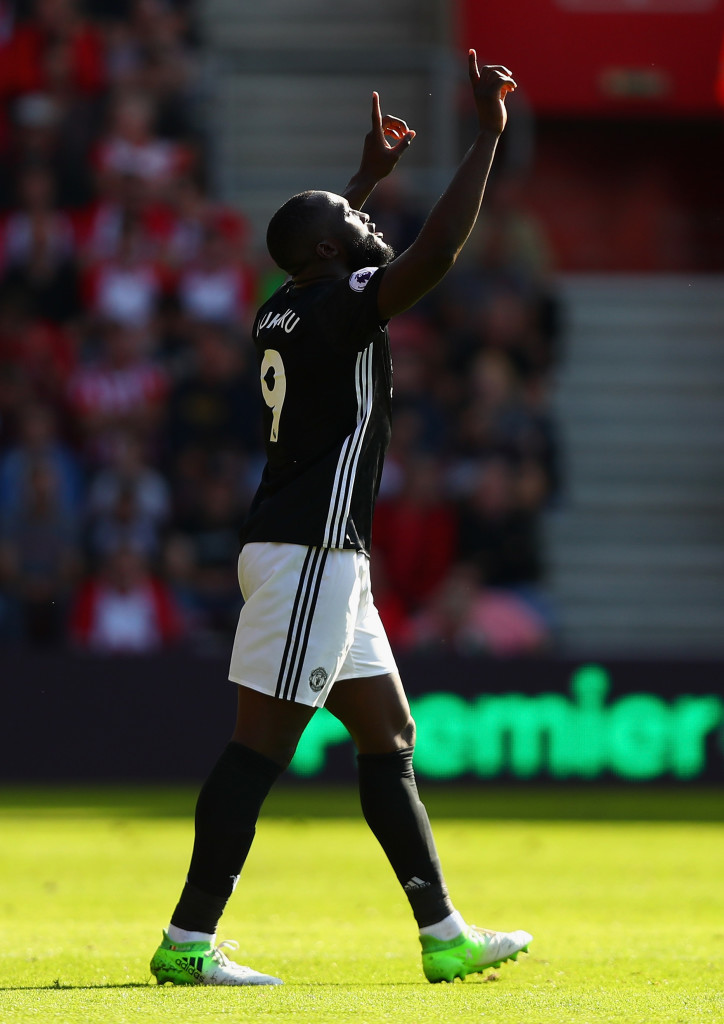 It's now eight goals in eight Manchester United appearances for Lukaku.