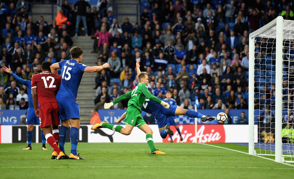 It was another shaky performance in goal from Simon Mignolet.