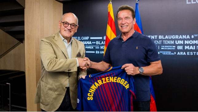 Lionel Messi is the 'the football terminator', says Arnold Schwarzenegger