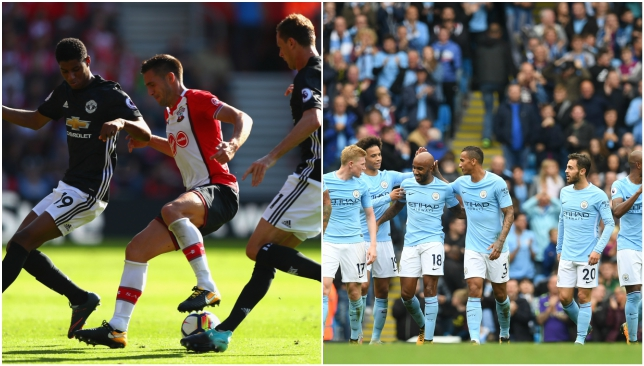 United's Herrera says big-spending Man City are title favourites