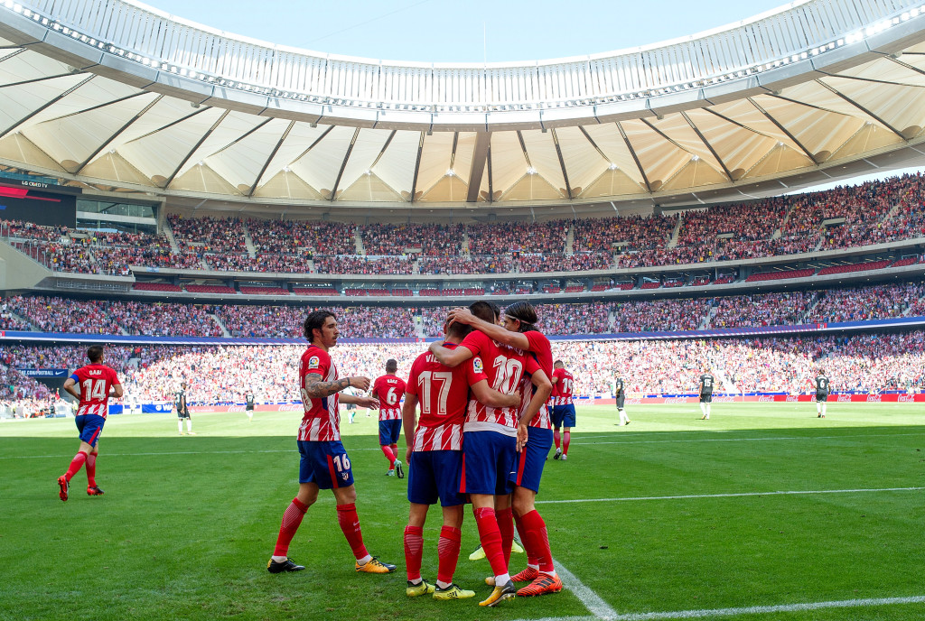 Atletico warmed up for their Champions League clash with a 2-0 win over Sevilla.