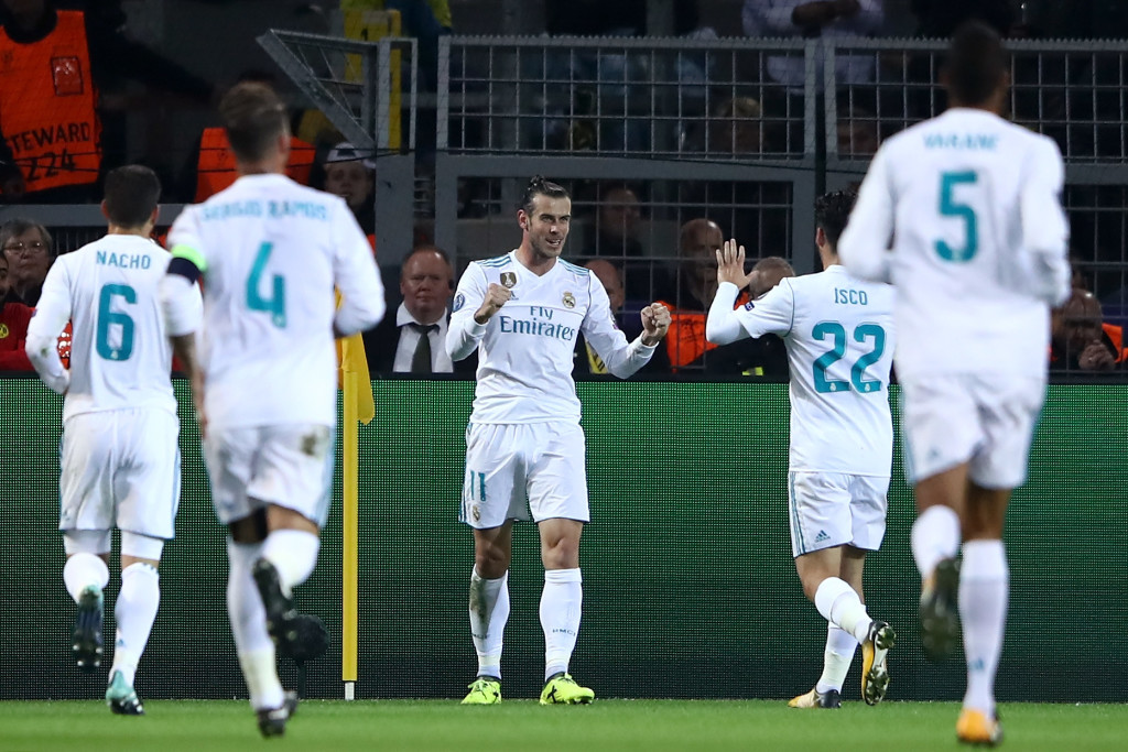 Bale was one of Madrid's star performers on Tuesday.