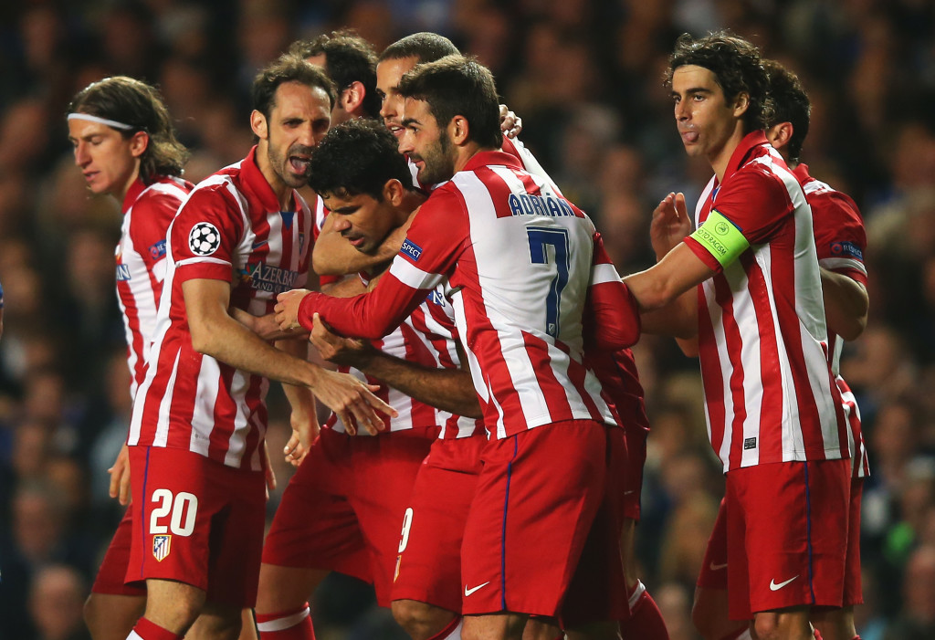 Atletico knocked Chelsea out at the semi-final stage in 2014.