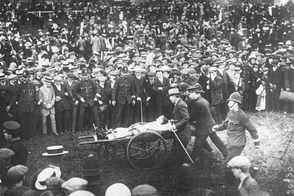 Davison paid with her life for her protest. (Image courtesy RTE)