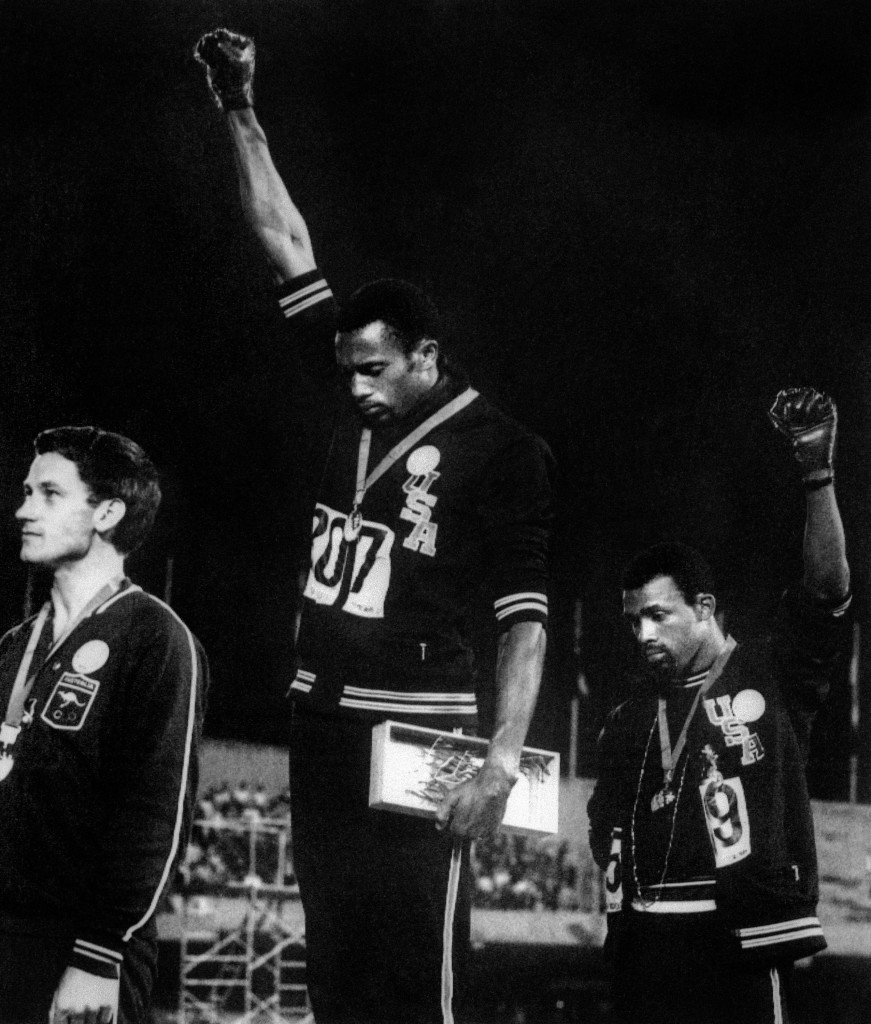 Tommie Smith's protest has become one of sports' most iconic moments.