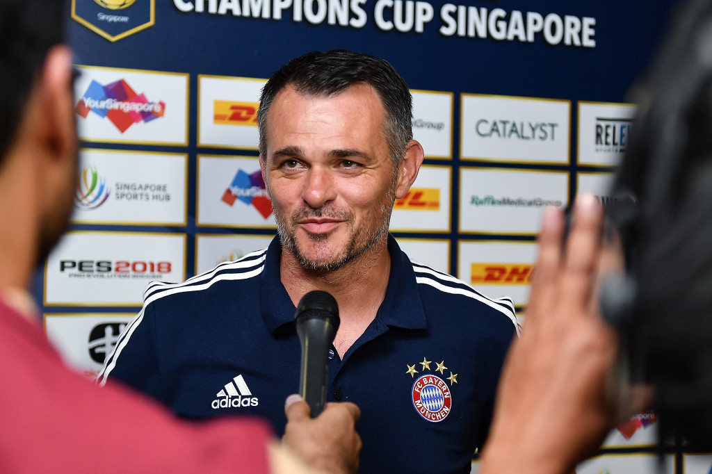Willy Sagnol is in the hot seat now as Bayern's interim manager.