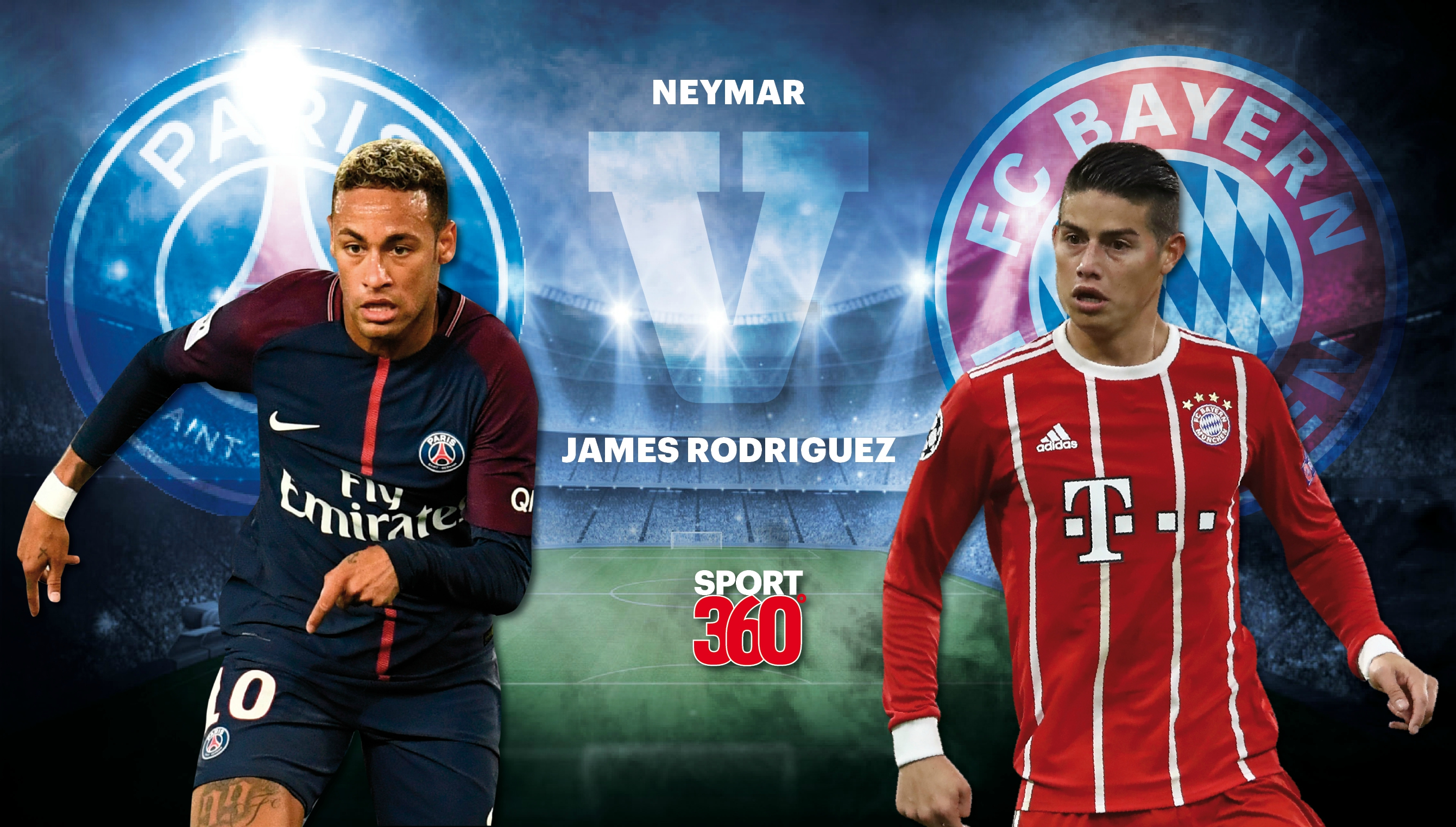 Analysis As Neymar Is At Slick Best But James Rodriguez Is Garbage In Psg S Win Over Bayern Munich Sport360 News