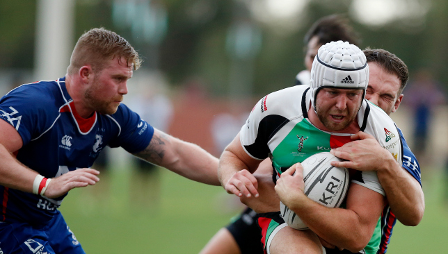 Skipper Ben Bolger was on the scoresheet for Quins