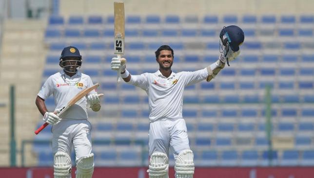 Chandimal remained unbeaten on 155 as Sri Lanka posted 491.