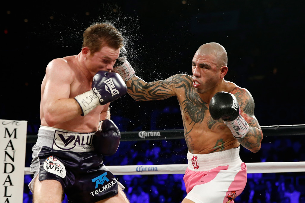 Moretti had Canelo winning 11 rounds to one against Miguel Cotto