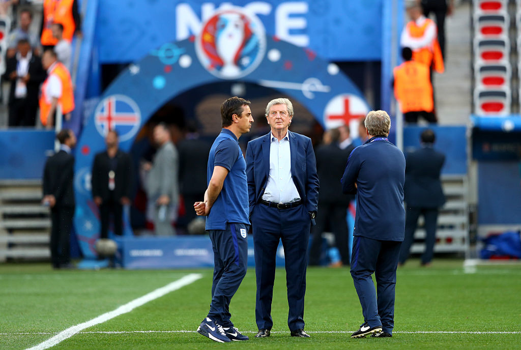 Hodgson did not have a successful time in the England job.