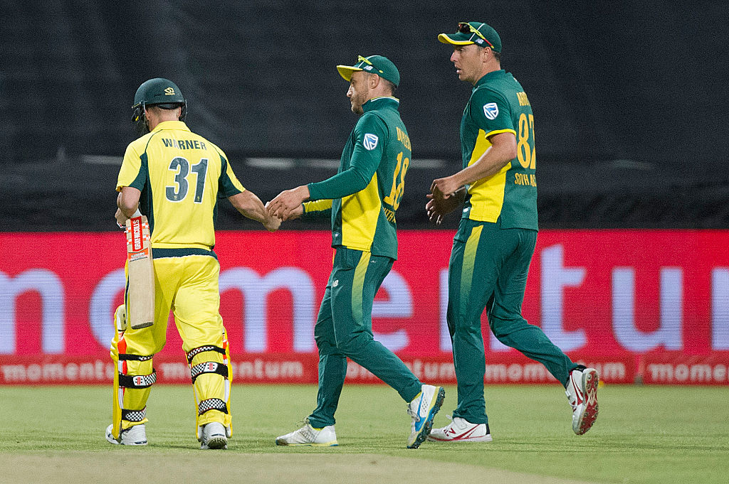 The Aussie were blanked 5-0 by South Africa earlier.