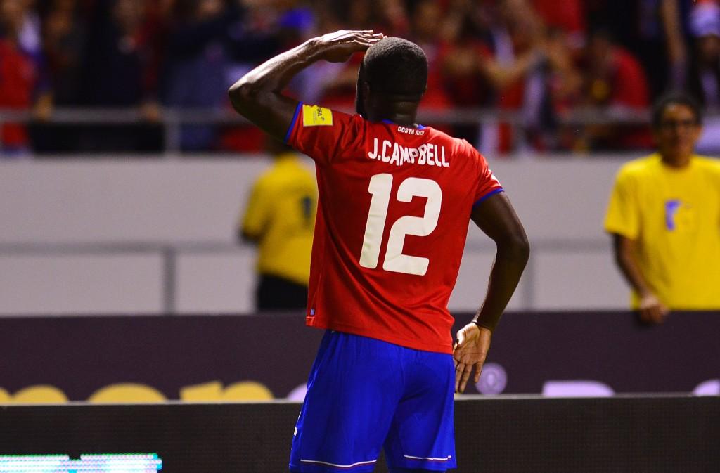Costa Rica international Joel Campbell