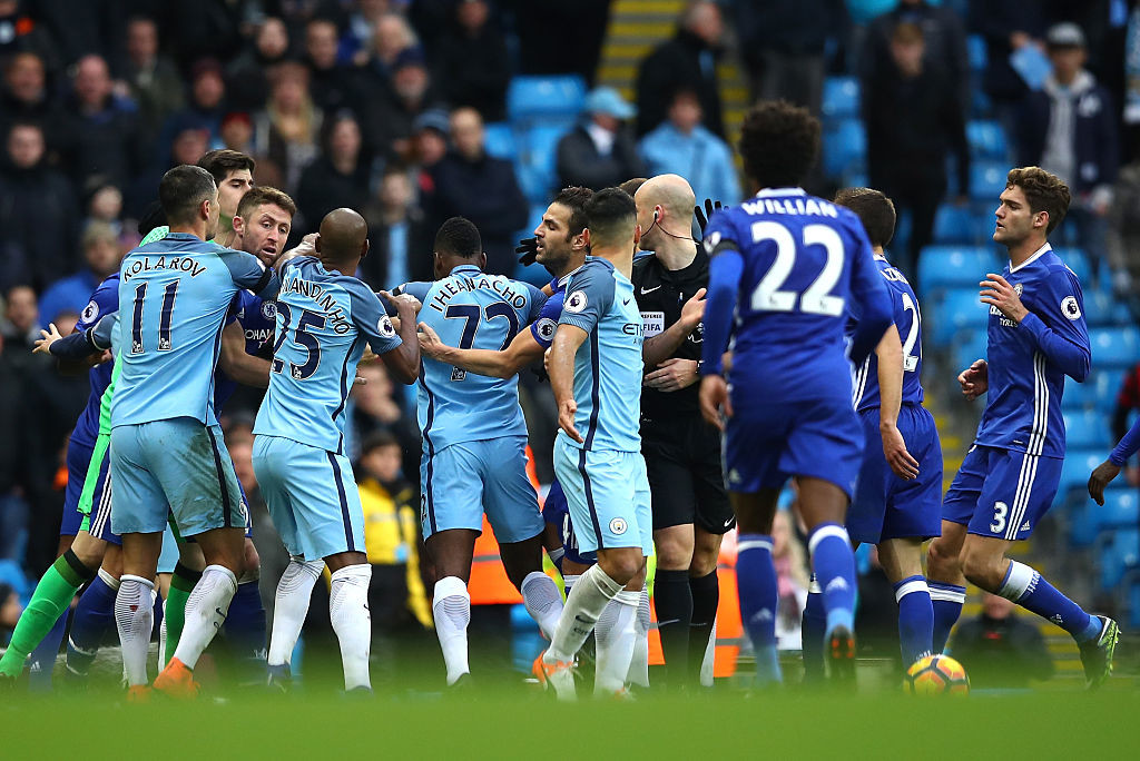 Manchester City had completed the double over Chelsea last season.