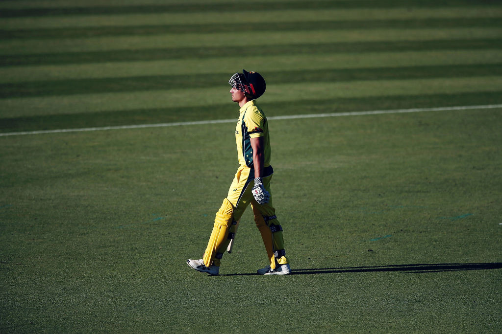 Marcus Stoinis top-scored for Australia with 76 runs.