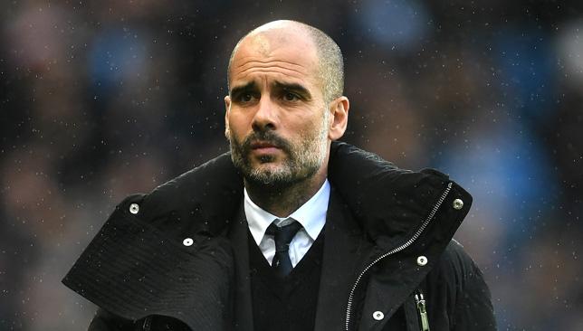 Pep Guardiola.