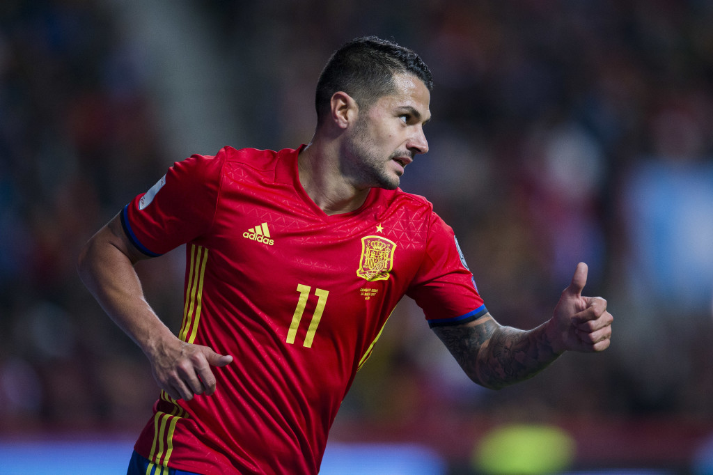 Vitolo is on loan at Las Palmas until January