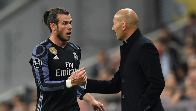 Zidane could take the spotlight off Bale by not starting him.