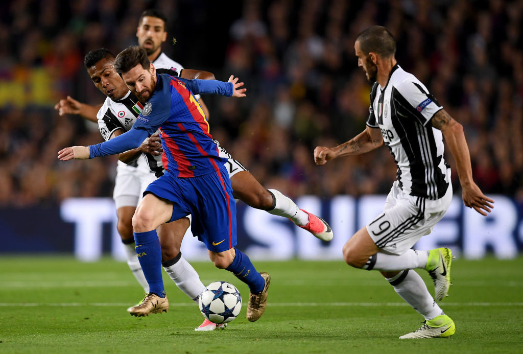Juventus managed to keep Messi quiet in both legs last year.