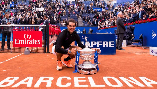 The stadium at the Barcelona tournament is named after Rafael Nadal.