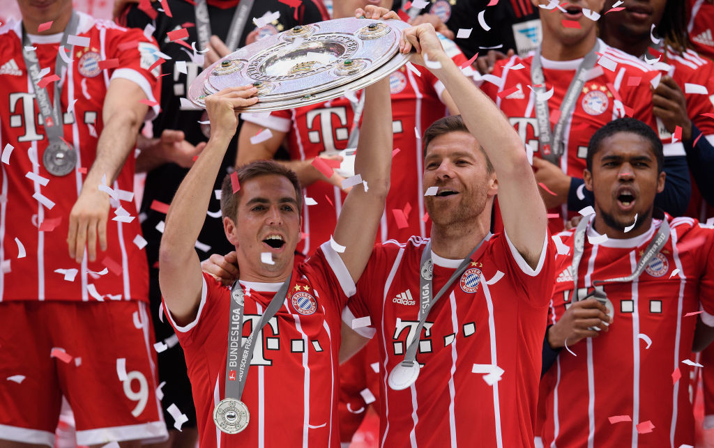 The departed: Philipp Lahm and Xabi Alonso are no longer at Bayern.