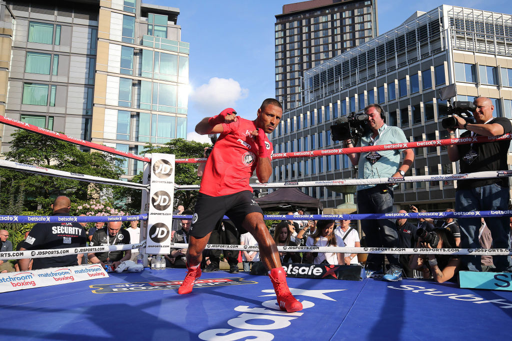 Khan is willing to fight Kell Brook again provided the boxer ditches Eddie Hearn.