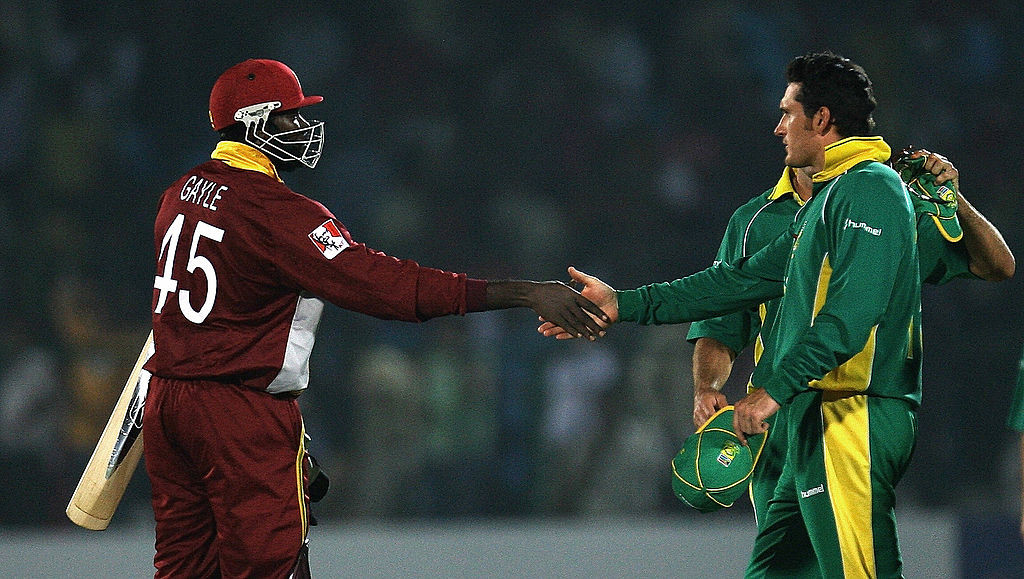 Gayle remained unbeaten to take West Indies to the finals.