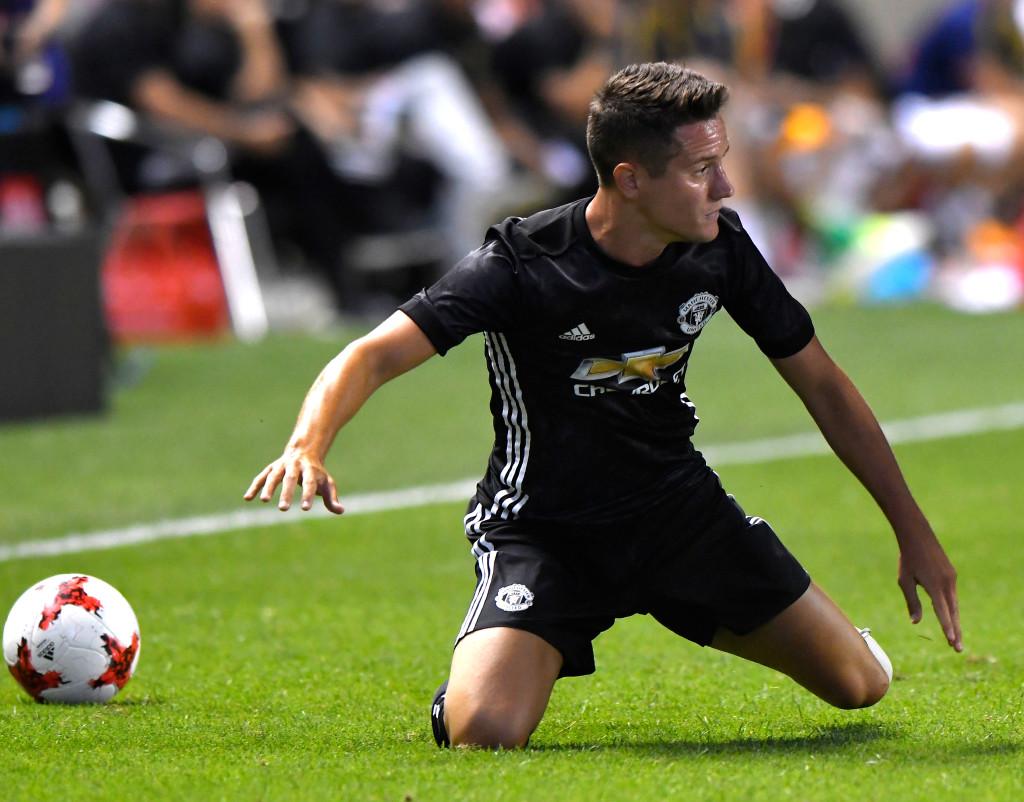 Man United midfielder Ander Herrera
