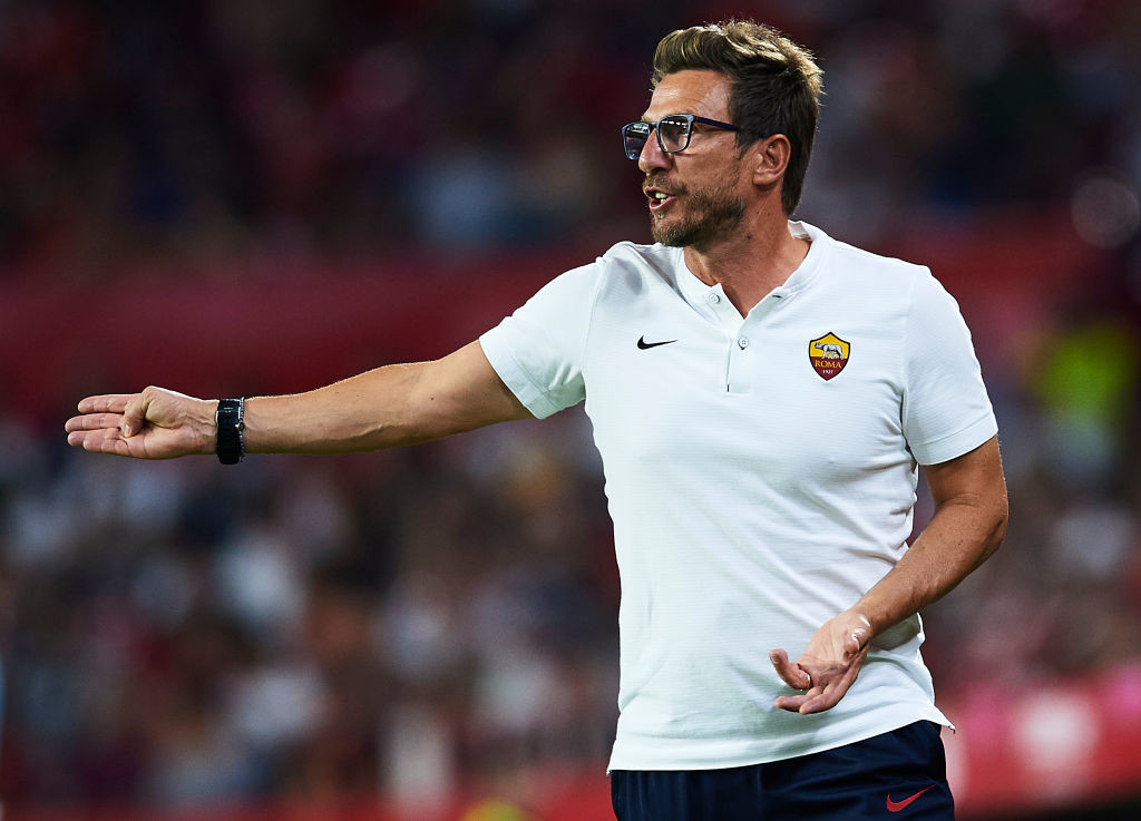 Eusebio di Francesco's mean have not played a competitive match in two and a half weeks.