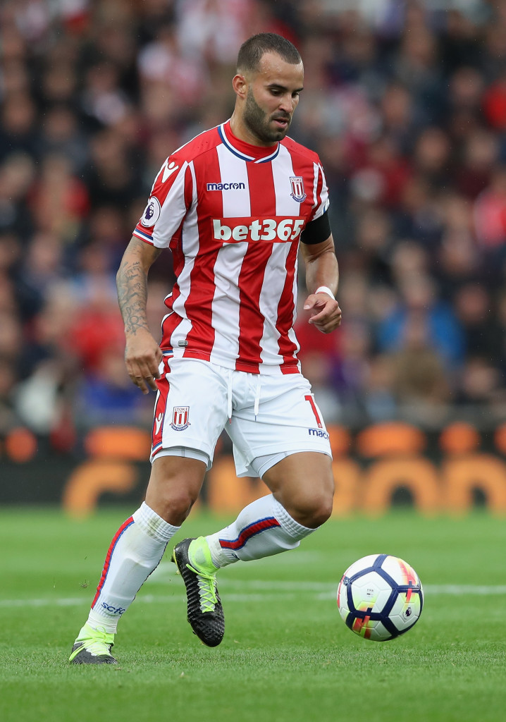 Jese on the run for Stoke