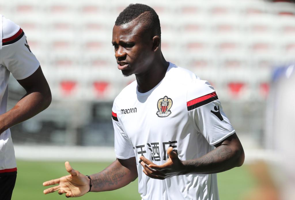 Nice's Ivorian midfielder Jean Michael Seri