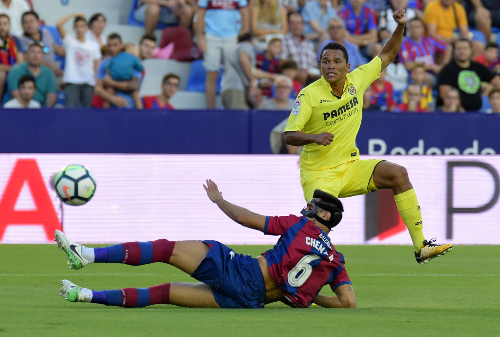 Carlos Bacca is yet to get off the mark on his return to La Liga