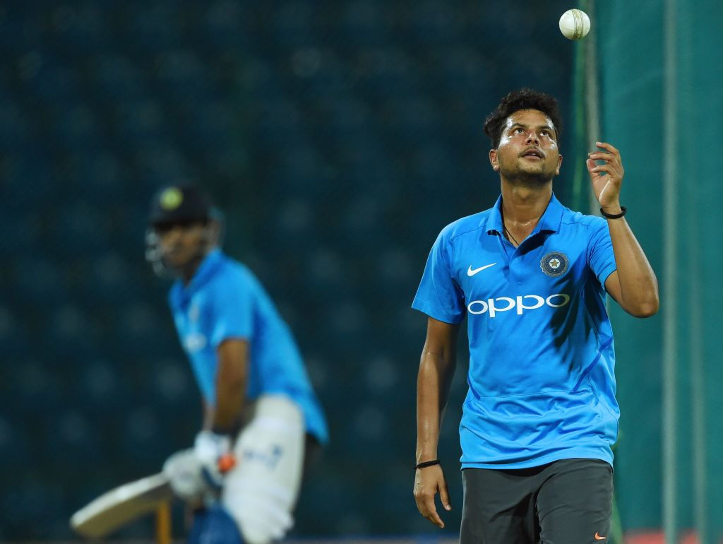 Kuldeep Yadav became only the third Indian to take an ODI hat-trick.