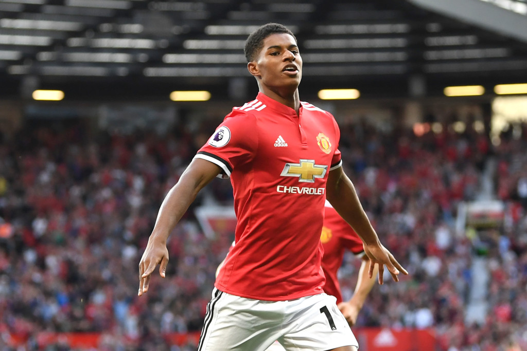 Marcus Rashford is yet to make an appearance in the Champions League