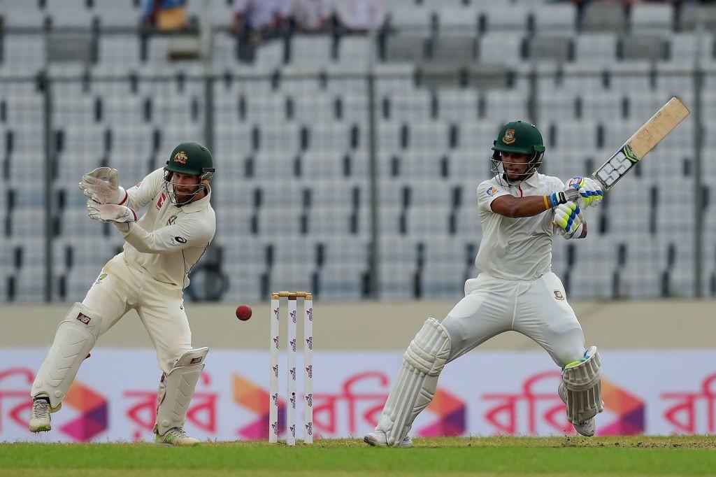 Rahman was looking solid in his innings of 66.