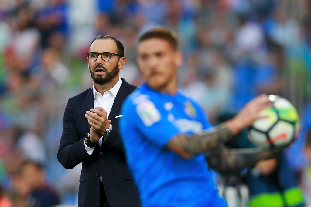 Getafe head coach Jose Bordalas has steered his side onto the cusp of the Champions League.