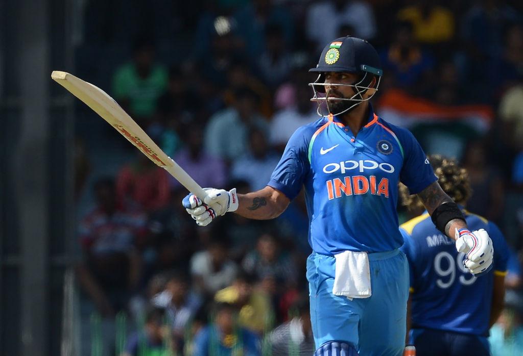 Kohli scored two consecutive centuries against Sri Lanka in Colombo.