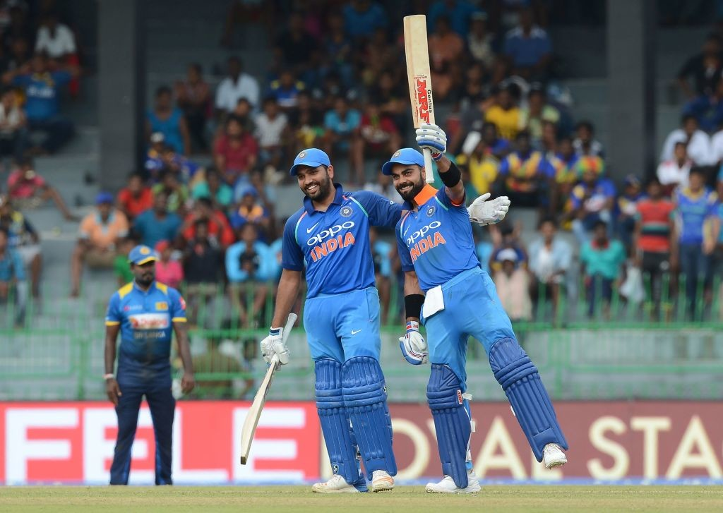 Kohli and Sharma scored a century each in India's convincing triumph.