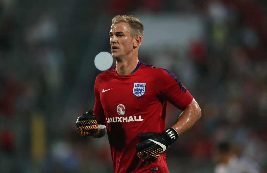 Joe Hart will be under pressure to perform between the sticks.
