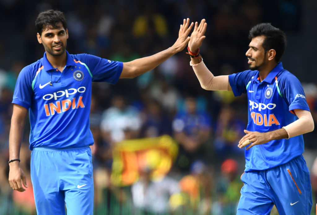 Kumar achieved his maiden five-wicket haul after going wicketless all series.
