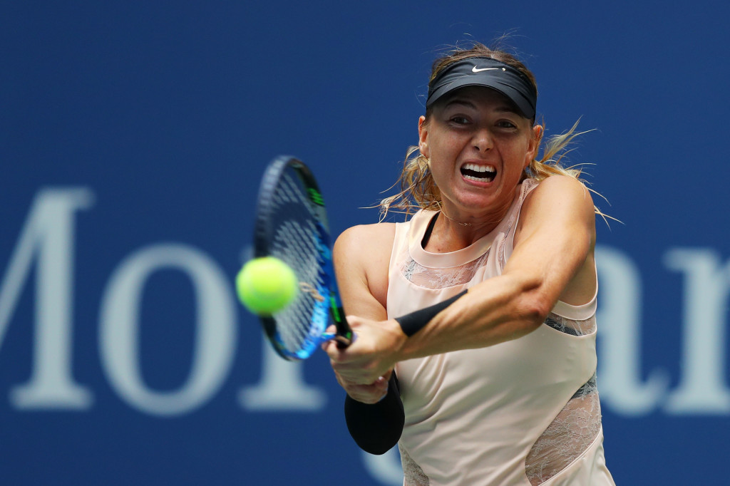 Coming back: Maria Sharapova.