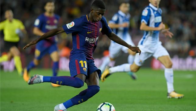 Dembele sets up Suarez